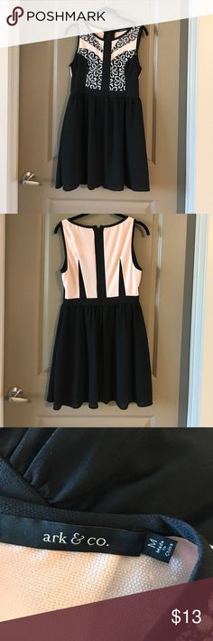 Black and Pink Dress Black and Pink Dress Ark & Co Dresses