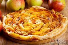 Receita de Torta de maçã delícia - Comida e Receitas