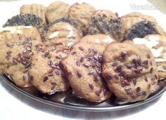 Sušienky z arašidového masla z troch surovín (fotorecept) - Recept Ale, Muffin, Cookies, Breakfast, Desserts, Food, Basket, Crack Crackers, Morning Coffee