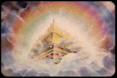 New Jerusalem, New Heaven, New Earth. Images Ciel, Akiane Kramarik Paintings, Celestial, Heaven Pictures, Jesus Pictures, Heaven Images, Bible Pictures, New Jerusalem, Religion