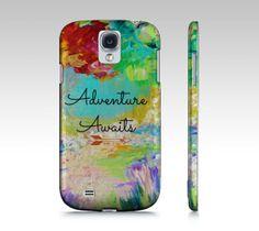 ADVENTURE AWAITS Samsung Galaxy S3 S4 Hipster by EbiEmporium, $40.00  #Samsung #tech #device #cover #case #cell #phone #fineart #art #pattern #elegant #bold #colorful #techie #gift #stylish #accessories #fashion #GS4 #GS3 #Galaxy #MadetoOrder #custom #bold #hipster #cool #nature #outdoors #forest #woods #trees #colorful #rainbow #wanderlust #adventure #arrows #font #typography #quote #quotation #font #whimsical #travel #explore #wild #flowers #summer #fun #trendy #exploring