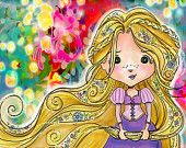 Stephanie Corfee - ESCAPE like Rapunzel - PRINT