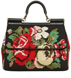 xx..tracy porter..poetic wanderlust..-needlepoint..on anything...with denim...yes yes!! DOLCE & GABBANA