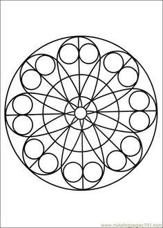 free printable coloring image Mandalas 20