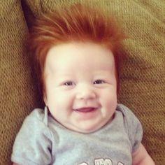 SO CUTE! Love this kids hair! Adorable!