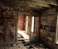 Abandoned dormitory for rail road. Clear Creek County, Colorado