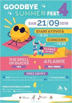 Grugliasco (To): Goodbye Summer Fest il 21 settembre al Parco Le Serre Folk Rock, Summer Fest, Estate, 21st, Green Houses