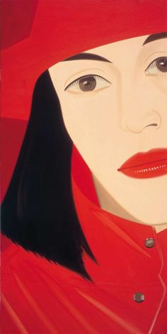It is easy to forget just how really good a painter Alex Katz can be. This is because he makes everything look so easy and natural.