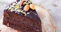 Chocolate cake made with avocados...🤔