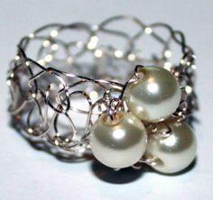 ce741089590d Las 66 mejores imágenes de anillos de perlas