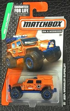 Matchbox Jeep Wrangler Superlift