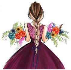 A U T U M N • V I B E S @hnicholsillustration #FashionIllustrations| Be Inspirational ❥|Mz. Manerz: Being well dressed is a beautiful form of confidence, happiness & politeness