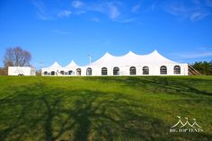 40 x 80 Pole Tent and a 20 x 40 Frame Tent - Big Top Tents
