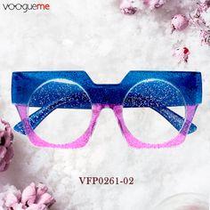 a43df45be846 Olivia Geometric Blue Eyeglasses VFP0261-02