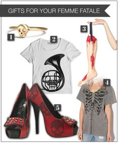 Gifts for Your Femme Fatale at Street Anatomy...need I say anymore?