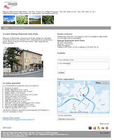 Ristorante, terrazza estiva, bar, caffè, pernottamento, Novaggio, Lugano, Caslano