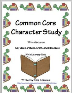 This unit was created after I attended a four day 2012 Common Core Summer Institute. This unit reflects the instructional shifts present in the Common Core and is a great first unit of study because it contains an into. to Reading Workshop. ($8.00)
