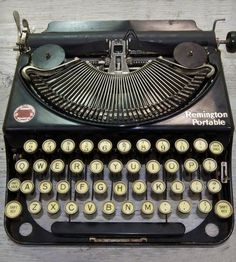 Vintage Remington Noiseless Model 2 Typewriter by Anodyne & Ink on Scoutmob Shoppe