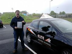 Congratulations to Hubert Marciniak on his FIRST time pass on 13th of May 2014.   Great drive and result Hubert. Good luck with your exams and future job hunting from Driving Instructor Angus Parker and the Team at Elite Driving School.