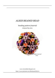 Alkes Beaded Bead  PDF file for personal use only