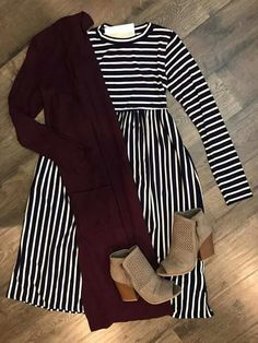 Super Ideas Short Boats Outfit For Work Cardigans Modest Dresses, Modest Outfits, Modest Fashion, Cute Dresses, Casual Outfits, Cute Outfits, Fashion Outfits, Apostolic Fashion, Country Outfits