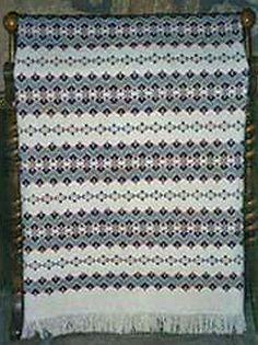 Fanfare-Design-Afghan-Swedish-Weave-Pattern-10-for-Monk-039-s-Cloth