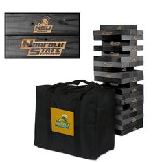Giant Tumble Tower Game - Norfolk State Spartans