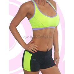 Купить женский спортивный костюм с короткими шортами Darcy-Jena (Дарси-Джена)в интернет-магазине Бай бай калории