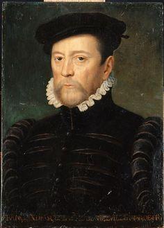 François de Scepeaux, seigneur de Vieilleville (1510-1571), Maréchal de France en 1562. Workshop of Francois Clouet. c. 1566