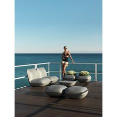 Pillow Lounge Chair, Outdoor Lighted Furniture Design at Cassoni.com