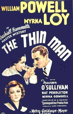 """""""The Thin Man""""~ one of my Christmas movies for all sorts of reasons"""