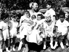 JOSEPHINE BAKER The Parisian star made adoption chic. To show that people from different cultures could live together, Baker took on 12 multinational children and called them her Rainbow Tribe.