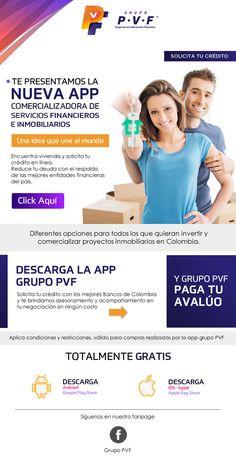 #NOVOCLICK esta con #Grupo P.V.F #APPInmobiliaria E-mail Marketing, Financial Statement, Group, Style