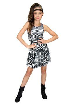 Maddie & Mackenzie line from ModAngel - Harlequin Dress