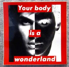 Gifts Only People Who Like Art Will Appreciate A collaboration* between Barbara Kruger and John Mayer.A collaboration* between Barbara Kruger and John Mayer. Montage Photography, School Photography, Photography Projects, Barbara Kruger Art, Picasso, Gender Politics, Surrealism Photography, Textiles, Feminist Art