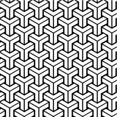 Wallpaper modern geometric patterns