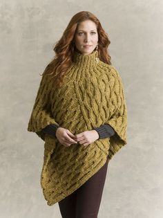 Welty Honeycomb Poncho in TARA TWEED    http://www.ravelry.com/patterns/library/welty-honeycomb-poncho
