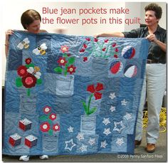 Read  about and see more quilts from the Golden Triangle Fabric Guild  here and  here. and  here.