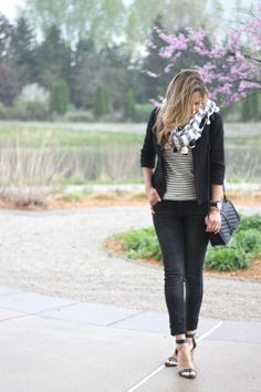 Lilly Style: stripes on stripes