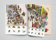 #childrenbook #children #book #illustration #picture_dictionary #NohA_illus