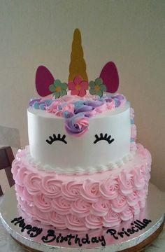 Unicorn Themed Birthday Party, Unicorn Party, Unicorn Cake Pops, Unique Birthday Cakes, Jojo Siwa Birthday, Bday Girl, Girl Cakes, Themed Cakes, Cake Designs