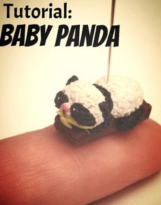 Polymer Clay Tutorial: Baby Panda