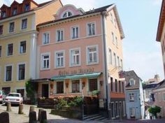 Hotel am Markt, Baden Baden, Germany. Small, privately owned, spacious room, good location, good value for Baden Baden