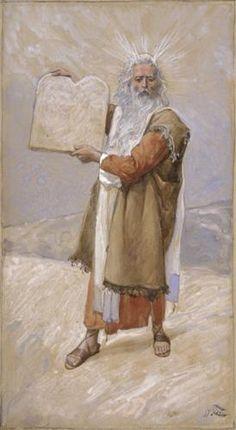 Moses and the Ten Commandments - James Tissot