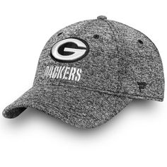 eab32ee2d7e Men s Green Bay Packers NFL Pro Line by Fanatics Branded Heathered Gray  Black   White Fundamental