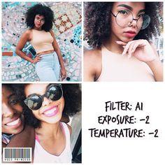 Os melhores filtros VSCO para Selfies