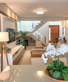 Home Stairs Design, Home Building Design, Home Room Design, Home Design Decor, Dream Home Design, Home Decor, Modern Exterior House Designs, Modern Home Interior Design, Dream House Interior