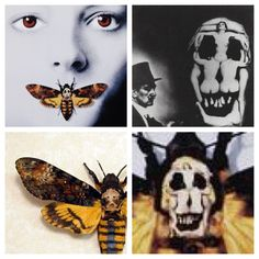 """Hannibal lecter's wings. (death moth). The movie cover moth for some reason has Salvidor Dali's """"skull"""" made of 7 women on its back. I would like to incorporate that into the image somehow but don't know what to do"""