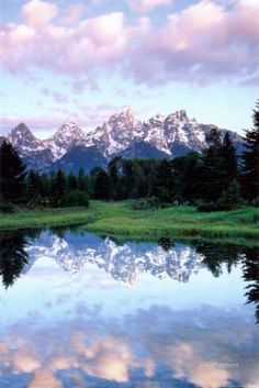 Grand Teton Print by Christopher Talbot Frank at AllPosters.com