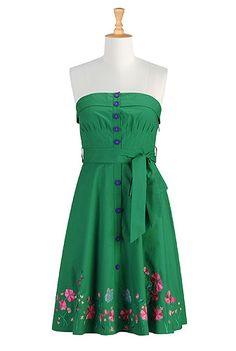 Poppy field dress. Can be custom sized - love it!